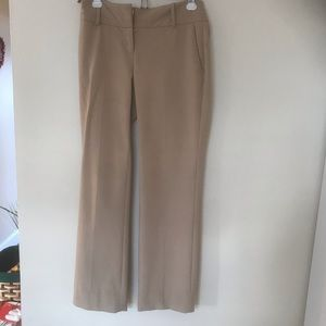 INC tan pants size 4